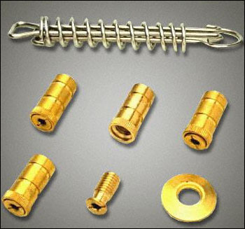 Brass Anchors Pool Cover Stainless Springs Hardware