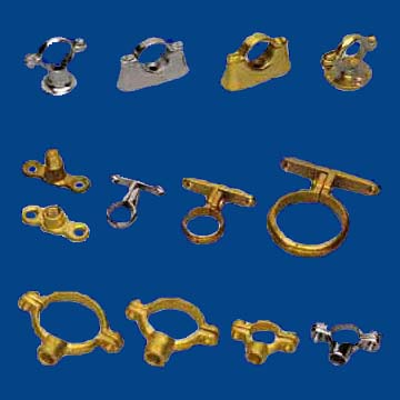 Pipe Clamps Brass Pipe Clamps