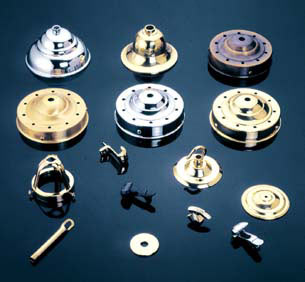 Brass Sheet Metal Components Parts Work